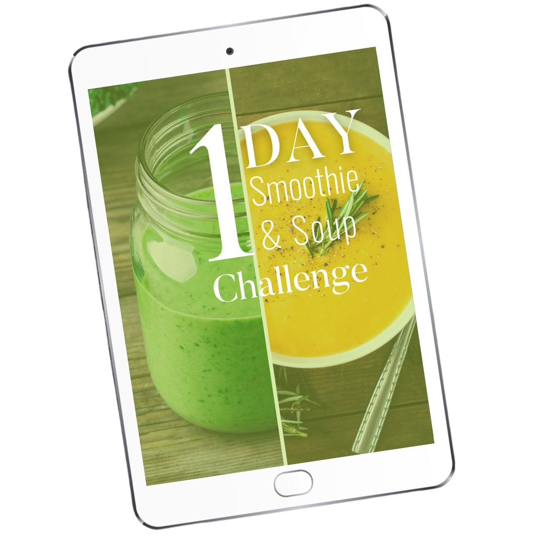 1 Day Smoothie Soup Challenge