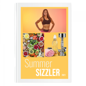 The 2021 Summer Sizzler Book cover